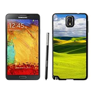 New Beautiful Custom Designed Cover Case For Samsung Galaxy Note 3 N900A N900V N900P N900T With Green Hills Phone Case