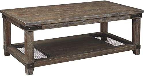 Signature Design by Ashley – Danell Ridge Coffee Table, Brown