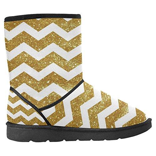 InterestPrint Womens Snow Boots Unique Designed Comfort Winter Boots Multi 4 EgPbnA5eMm