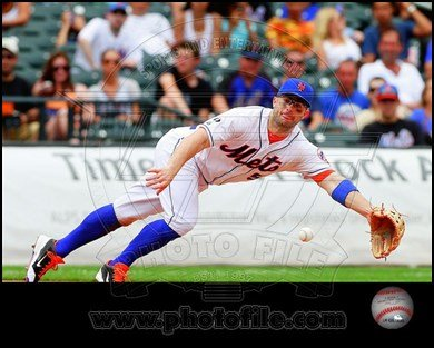 David Wright 2014 in Action Art Poster PRINT Unknown 10x8