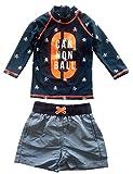 eKooBee Baby Little Boys Rash Guard Set Swimwear Long Sleeve Swimsuit UP50+