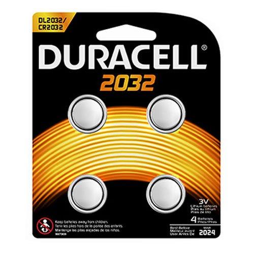 Procter & Gamble DURDL2032B4PK Duracell Lithium 3V Medical Battery