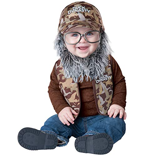 Duck Dynasty Halloween Costumes Uncle Si (Duck Dynasty Baby Boy's Uncle Si Costume, Camouflage,)