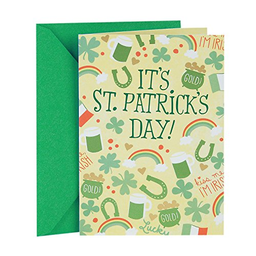 (Hallmark St. Patricks Day Card (Perfectly Happy))