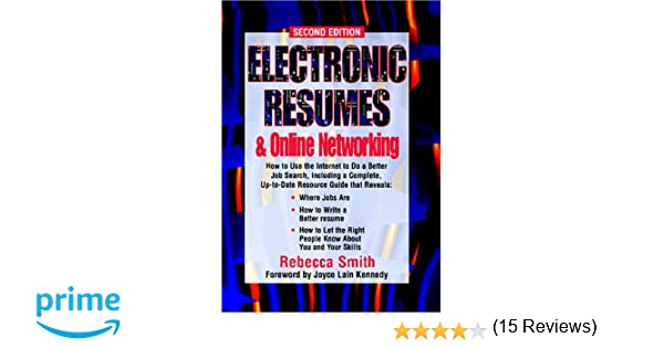 electronic resumes online marketing second edition