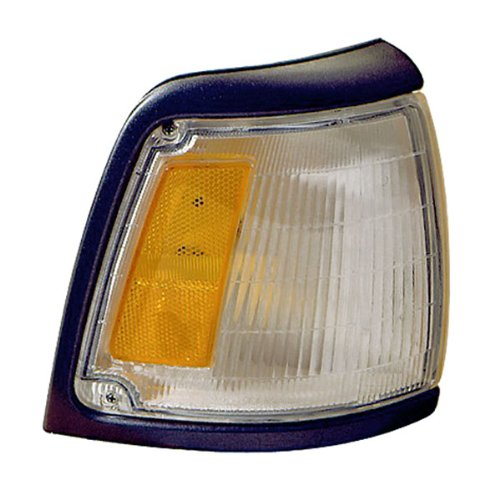 - 1992-1995 Toyota Pickup Truck 2WD 4x2 (With Gray Trim, Paint to Match) Corner Park Light Turn Signal Marker Lamp Right Passenger Side (1992 92 1993 93 1994 94 1995 95)