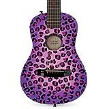 First Act FG3715 Purple Cheetah Acoustic Guitar