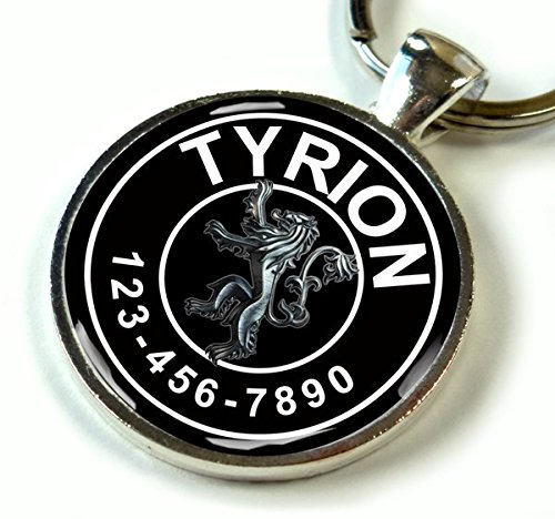 game-of-thrones-black-tyrion-lannister-silver-lion-2-custom-id-pet-tag-dog-tag-cat-tag-small-1