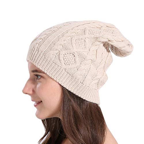 Hombre FANQIANNAN Mujeres 2 Punto Casual Gorra Baggy 3 Invierno para De Beanies Sombreros De De YqYzT