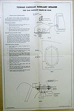 cad kitchen design 1949 cadillac coupe speaker install 1949