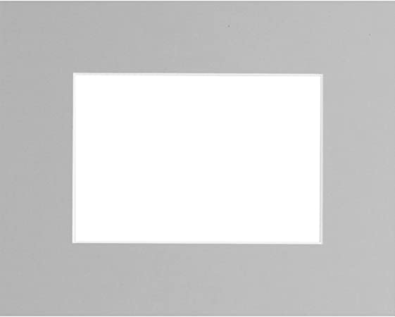 apertura 18 x 24 cm Brio Passepartout colore: bianco 30 x 40 cm plastica