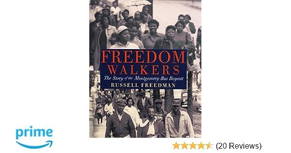 freedom walkers by russell freedman