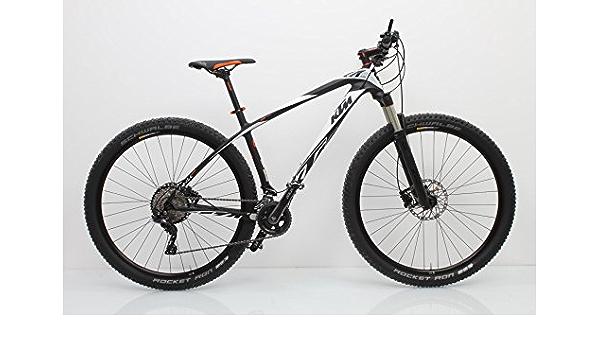 KTM Aera Pro 29 Mountain Bike 22 Gang Carbon Blanco Naranja ...