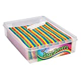 HUER - Sour Rainbow Streamers 150 Count - 1.5 KG