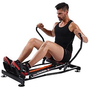 KiNGKANG Rowing Machine Adjustable Resistance Fitness Home Training Workout Rower Equipment from KiNGKANG