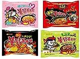 Samyang Ramen/Spicy Chicken Roasted Noodles (4 Flavor Combo (20 Pk))