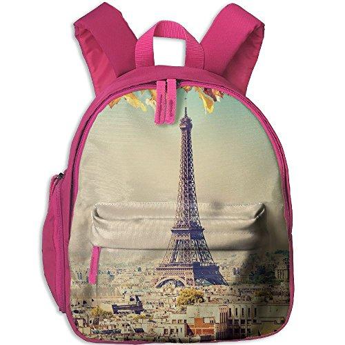 [Paris Wallpaper2 Comfy School Bags,Custom Cute Children Shoulder Daypack,Print Backpack For Kids] (Museum Of Costume Paris)