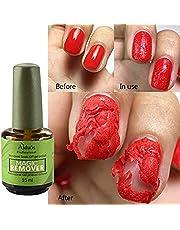 15 ml Magic Soak Off Gel Removedor de Esmalte de uñas, ARTIFUN Profesional Arte de Uñas UV Removedores de Laca de Esmalte de Imprimación en 2-5 minutos, Fácil y Rápidamente