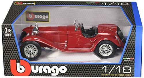 Bburago 2011 Alfa Romeo 8C 2300 Spider Touring Vehicle (1/18 Scale), Gold/Silver by Bburago (2300 Spider)