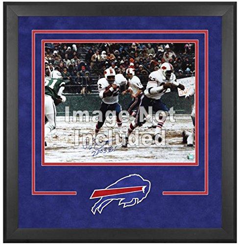 Buffalo Bills Deluxe 16x20 Horizontal Photograph Frame by Mounted Memories