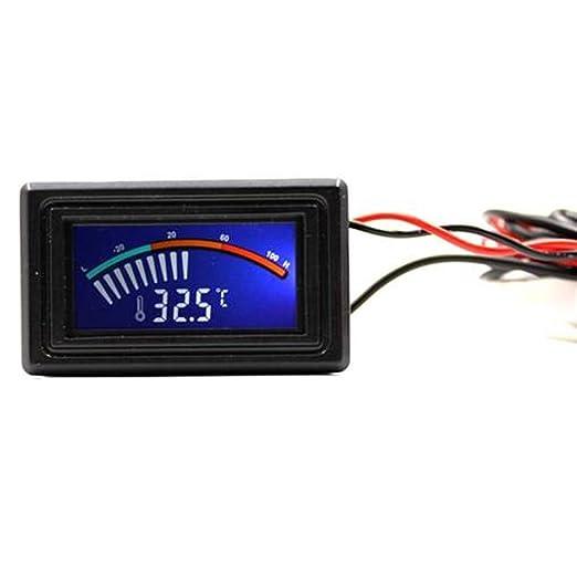 2 opinioni per Temperatura Termometro Digitale Scartamento Metrico C / F Pc Mod
