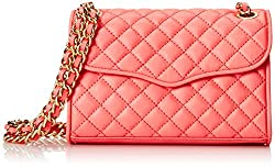Rebecca Minkoff Mini Quilted Affair Cross Body Bag, Watermelon, One Size