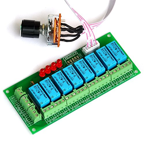 Electronics-Salon Balanced Four Stereo Audio Signal Input Selector Relay Module.