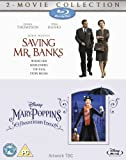 Saving Mr Banks & Mary Poppins [Blu-Ray][Region Free] by Disney