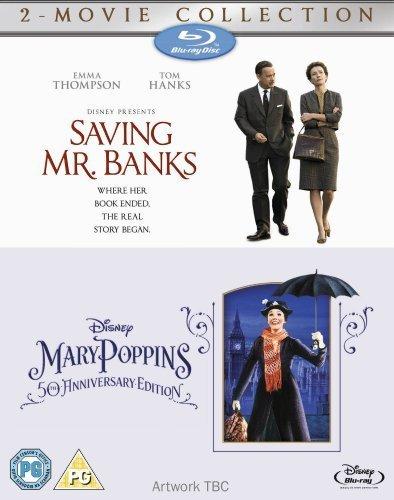 Saving Mr Banks & Mary Poppins [Blu-Ray][Region Free] by Disney