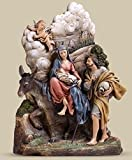 9'' Joseph's Studio Uffizi ''Flight into Egypt'' 3D Portrait Style Table Top Decor