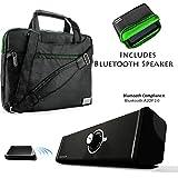 NineO Laptop Tablet Travel Shoulder Messenger Bag For Microsoft Surface Book Laptop/Tablet PC + Bluetooth Speaker