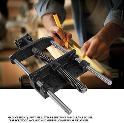 """木工バイス、7""""ベッドメタルバイスクリップ固定修理バイスツール用木工ヘビーデューティーテーブルクランプ"""