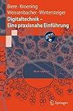 Book cover image for Digitaltechnik - Eine praxisnahe Einführung (Springer-Lehrbuch) (German Edition)