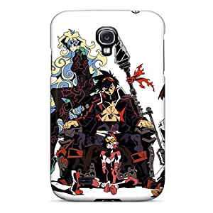 WayneSnook Samsung Galaxy S4 Scratch Protection Phone Cases Provide Private Custom High-definition Gurren Lagann Anime Series [KQF2142AbmU]