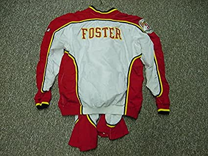 08f2f0291 Greg Foster Atlanta Hawks 1992-95 Game Worn Warm-Up Suit at Amazon s Sports  Collectibles Store