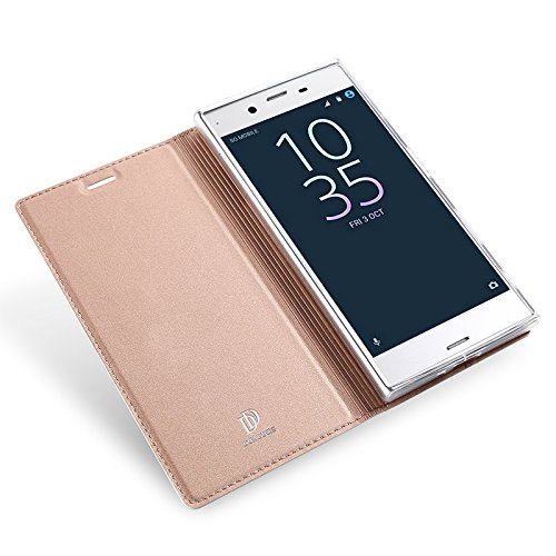 new style e491d afa78 Amazon.com: KuGi Sony Xperia L1 case,Ultra-Thin BW Style PU Cover + ...