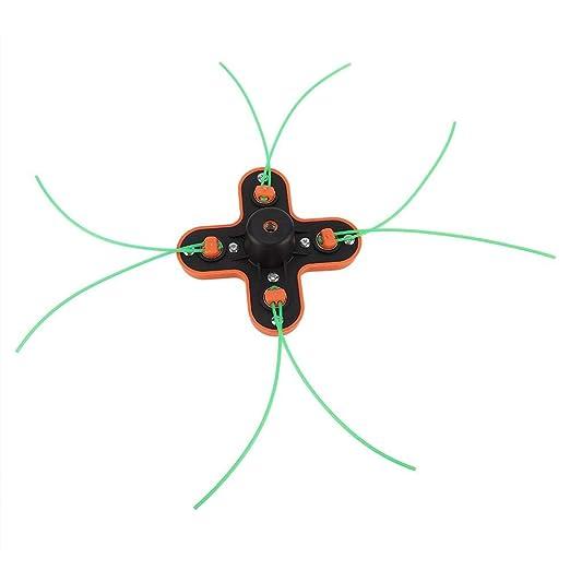 Formas de l/ínea de 2.0 mm a 3.2 mm de di/ámetro Asixx Cabezal de Corte Cabezal de Corte Universal para desbrozadora