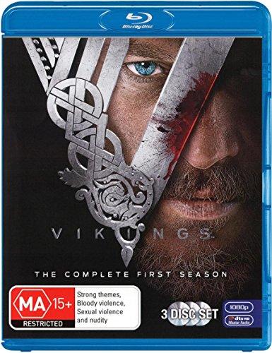 Vikings Season 1 | 3 Discs | NON-USA Format | Region B Import - Australia