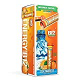 Zipfizz Healthy Energy Drink Mix, Hydration with B12 and Multi Vitamins, Orange Soda, 20 Count