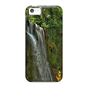 DUGhAKM7999dAgqj Dana Lindsey Mendez Awesome Case Cover Compatible With Iphone 5c - Jungle Waterfall