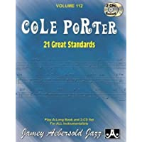 Jamey Aebersold Jazz -- Cole Porter, Vol 112: 21 Great Standards, Book & 2 CDs