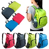Foldable Lightweight Waterproof Travel Backpack Hiking Bag Outdoor Camping Sports Hiking Folding Pack / Gray