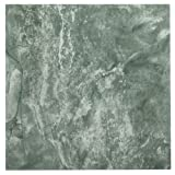 Achim Home Furnishings FTVMA42220 Nexus Vinyl Tile, Marble Verde Vein, 12-Inch, 20-Pack