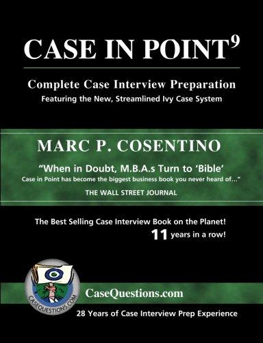 case study interview preparation book
