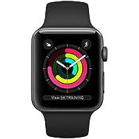 Apple Watch Seri 3 GPS 42mm Uzay Grisi Alüminyum Kasa ve Siyah Spor Kordon - MTF32TU/A
