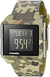 Diesel Men's DZ1714 Big Bet Digital Display Analog Quartz Multi-Color Watch