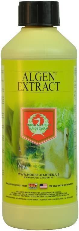 House & Garden HGALG005 Algen Extract Fertilizer, 500 mL