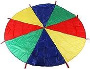 Paak Colorful Parachute Sensory Integration Training Rainbow Kids Early Education Learning Umbrella Children G