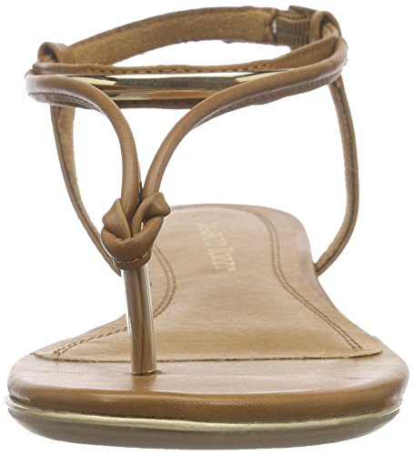 Marco Tozzi 28168 - Sandalias de dedo Mujer Beige