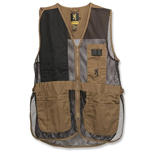 Browning Trapper Creek Vest, Clay/Black, Large